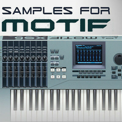SAMPLES FOR YAMAHA MOTIF ES XS XF MOXF MONTAGE KEYMAPS READY TO PLAY