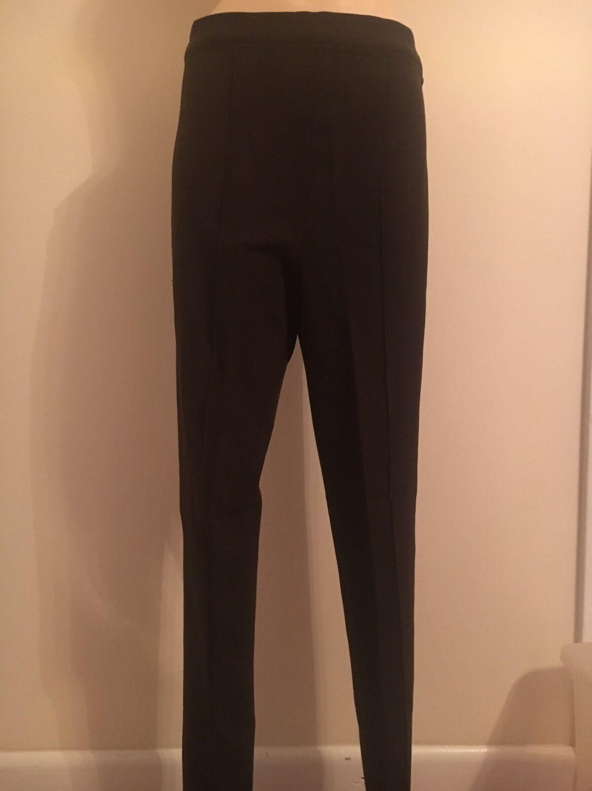 Valentino Brown Ladies Wool Pants Size 8