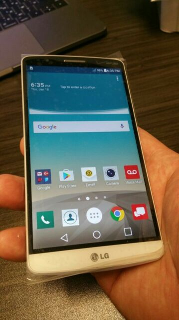 LG G3  - 32GB -White. Smartphone. T Mobile USA only.