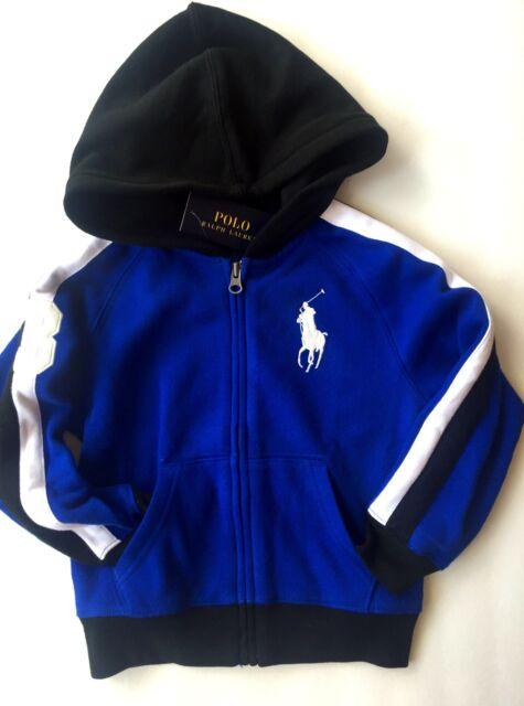 70d340b4 Boys Ralph Lauren Hooded Jacket Sweatshirt Age 5 Years for sale ...