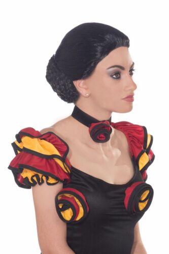 Spanish Dancer Women/'s Adult Flamenco Costume Wig