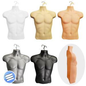 Half Male Hanging Body Form Shop Display Bust Torso Shell ...