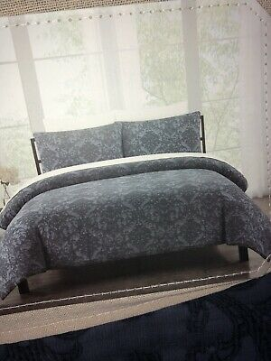 Cotton Matelasse 3 Piece Full, Nicole Miller Artelier Bedding Blue
