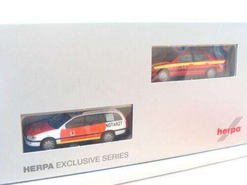 Herpa 1//87 259903 2er Set Pkw Feuerwehr Dortmund OVP LN854