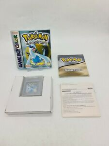 RARE NEW GAME BOY GAMEBOY GB BOXED BOITE OV0 POKEMON SILVER VERSION DMG-AAUP-EUR