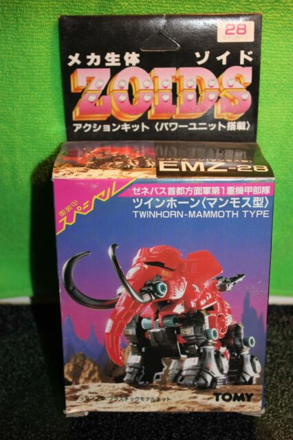 Zoids Vintage Original Release Twinhorn-Mammoth type Mint in Box