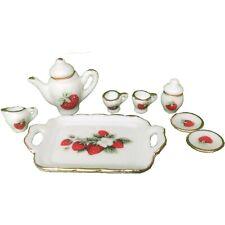 15X//Set Mini Transparent Drink Cups Dish Plate Tableware Miniatures