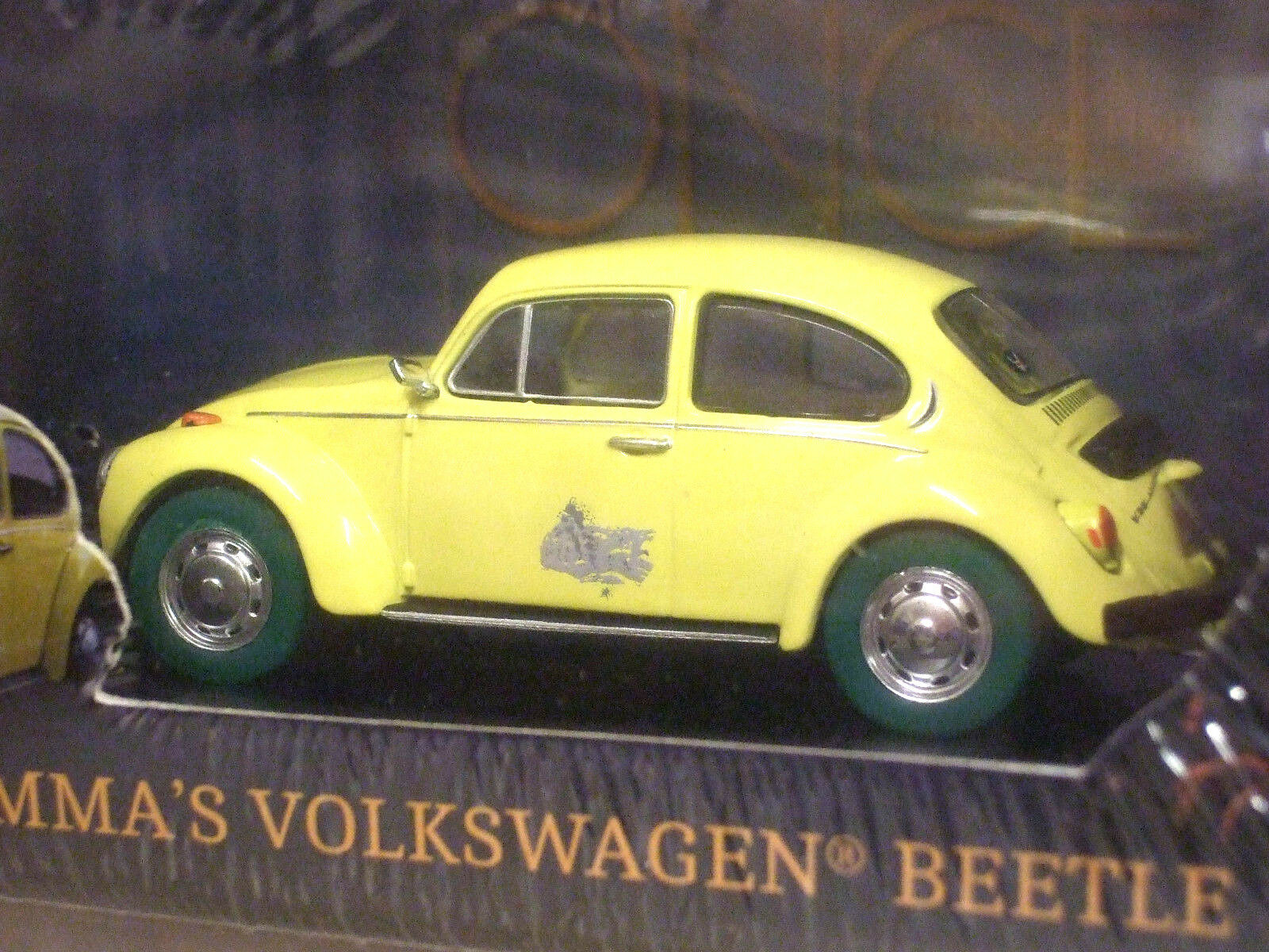 GREENLIGHT 1 43 EMMA SWANS VW BEETLE ONCE UPON A TIME RARE CHASE CAR GREEN TYRES