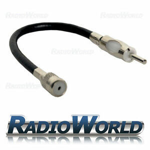 Car-Radio-Stereo-Iso-To-Din-Aerial-Ariel-Arial-Antenna-Extension-Adaptor