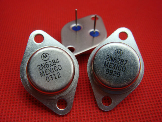 PNP Power Amp//Switch Transistor 2N6246 TO-3 Found in Stereo /& Guitar Amps