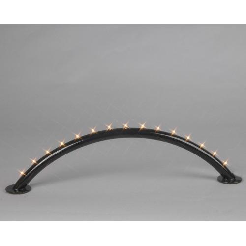 Arco di luci luci luci 15er LED warmweiss Nero Batteria Trasformatore 191-80 40adf6
