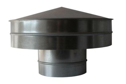 roof outlet smoke evacuation deflektorhaube Roof Hood 150mm roof vent