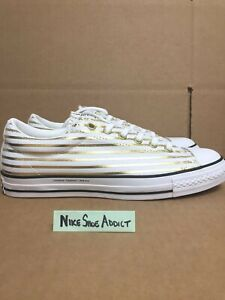 09f9f7480a9f Converse All Star Chuck Taylor CTS OX Low Fragment White Gold ...