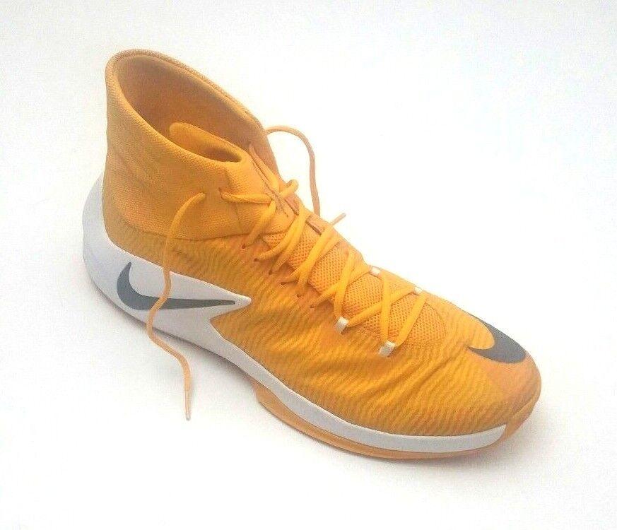 Nike Men's 856486-771 Zoom Clear Out TB Basketball schuhe schuhe schuhe Gelb Weiß Größe 17.5 01bd96