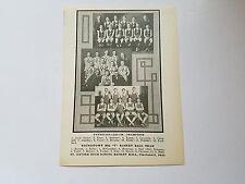 St. Xavier High School Cincinnati Ohio Youngstown 1923-24 Basketball Team Pic