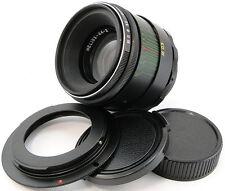 !NEW! HELIOS 44-2 2/58 Russian Lens Canon EF 700D 750D 70D 6D 7D 5D MARK II III