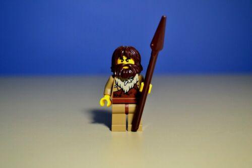 LEGO City Caveman Minifigure w/spear  60200