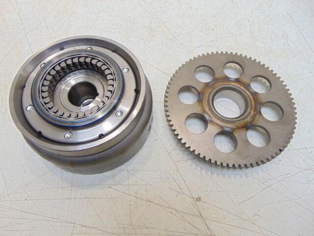 Honda Vt600 Shadow 600 Vlx Dlx 02 Flywheel  U0026 Clutch Starter Gear
