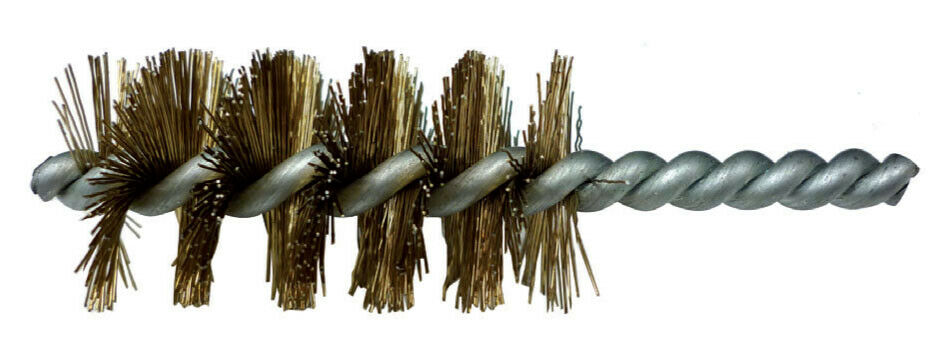 Poggi 479.00 spazzola scovolo con fili in acciaio Ø 28 mm gambo 6 mm