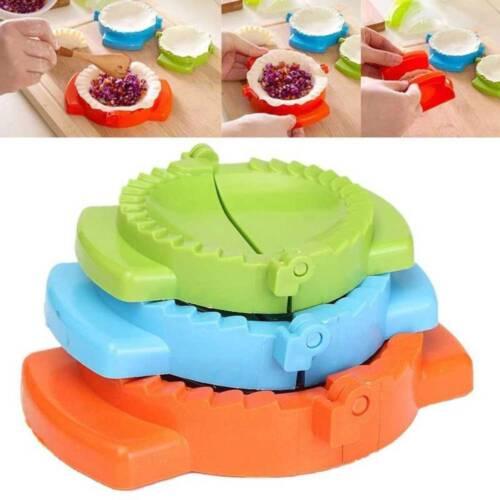 3Pcs//set Colorful DIY Dumpling Maker Meat Dough Press Mold Kitchen Pastry Tools