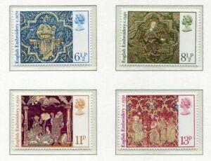 S2656-UK-Great-Britain-1976-MNH-Christmas-4v