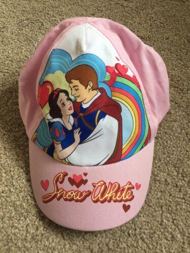 Girls Size 52-54 cm Snow White Baseball// Peaked Cap BNWT Disney Pink