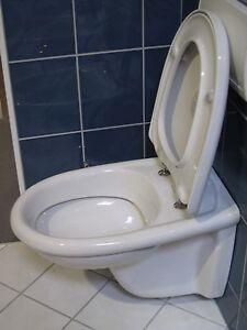v b wc klosett toilette tiefsp lklosett arriba wandh ngend wei alpin wc sitz ebay. Black Bedroom Furniture Sets. Home Design Ideas