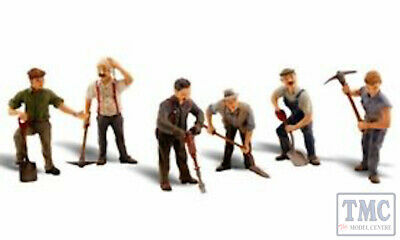 A2761 Woodland Scenics Painted Figures O Scale Road Crew