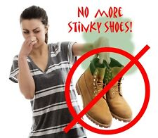 Fortinia All Natural Shoe Spray - Gets Rid of Smelly, Stinky Feet Odor in Shoes!