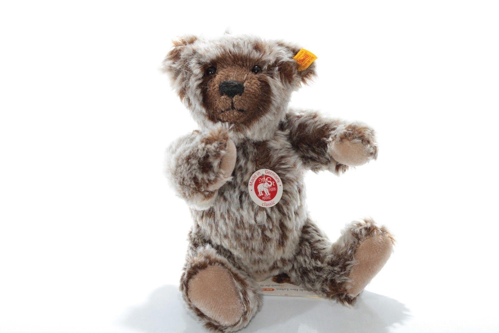 Steiff bearsMohair Classic Teddy Bear Tipped Retirosso -Ean 030475