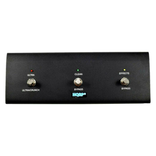 3-Button Guitar Amp Footswitch fits Peavey 3120 Head Triple XXX Series JSX