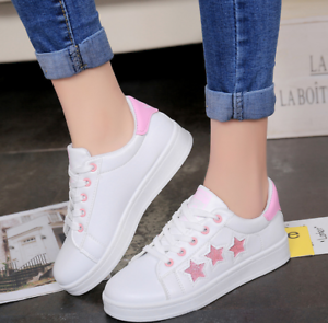 New Fashion Casual Women/'s Shoes Personality Sport Sneakers Running Shoes