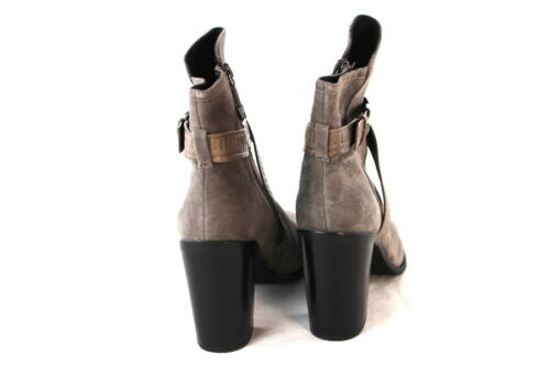 Velour Heel For Taupe New Stivaletti What Y8 Bootie Leather Block 40 Gr SOqxTUZ
