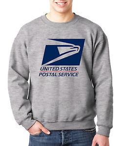 USPS LOGO POSTAL SPORT GREY 2C CREW NECK Sweatshirt United States Service
