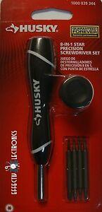 New-Husky-8-in-1-Precision-Torx-Star-Screwdriver-Set-T4-T5-T6-T7-T8-T9-T10-T15