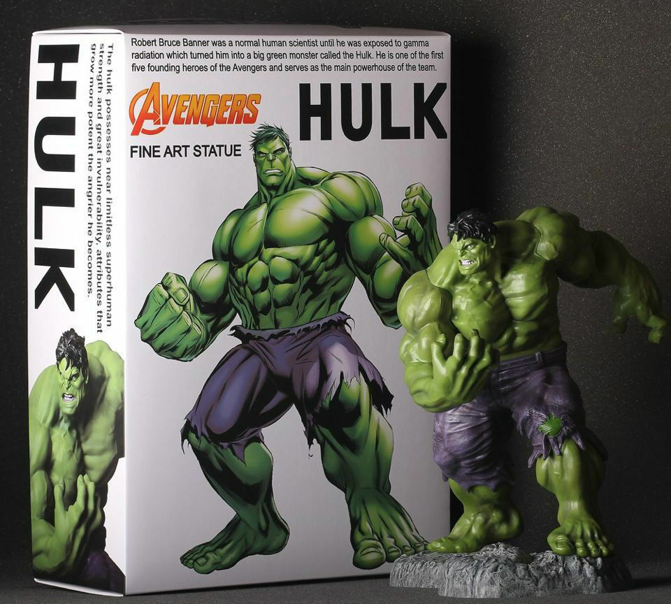 Crazy Toys Marvel Classic Avengers Series1 6 Scale Hulk Fine Art Statue Figure