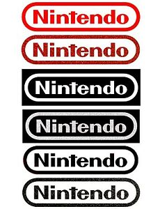 NINTENDO-Logo-Sticker-Decal-Pick-Color-and-Size