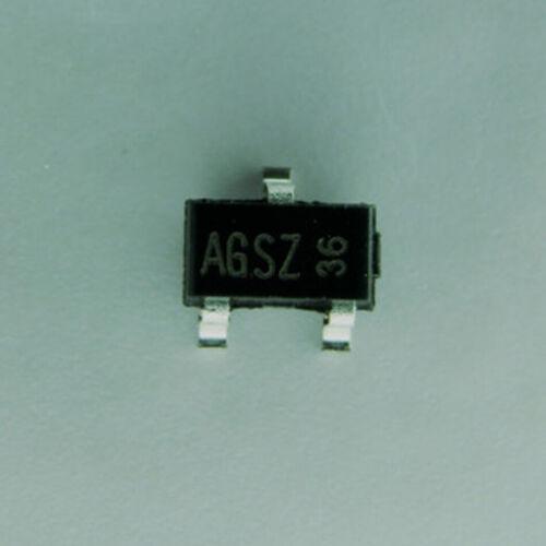 5Pcs AO3416 agsz baja tensión baja sobre la resistencia N-MOSFET SOT-23