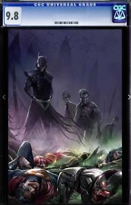 Dark Nights Metal 4 Mattina Virgin Variant CGC 9.8