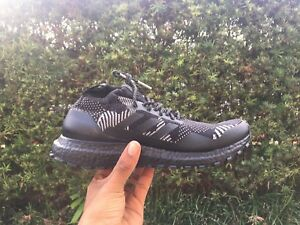 online store ca679 fdf41 Details about Kith x Nonnative x Adidas Ultra Boost Mid ATR - Triple Black  Size 7.5