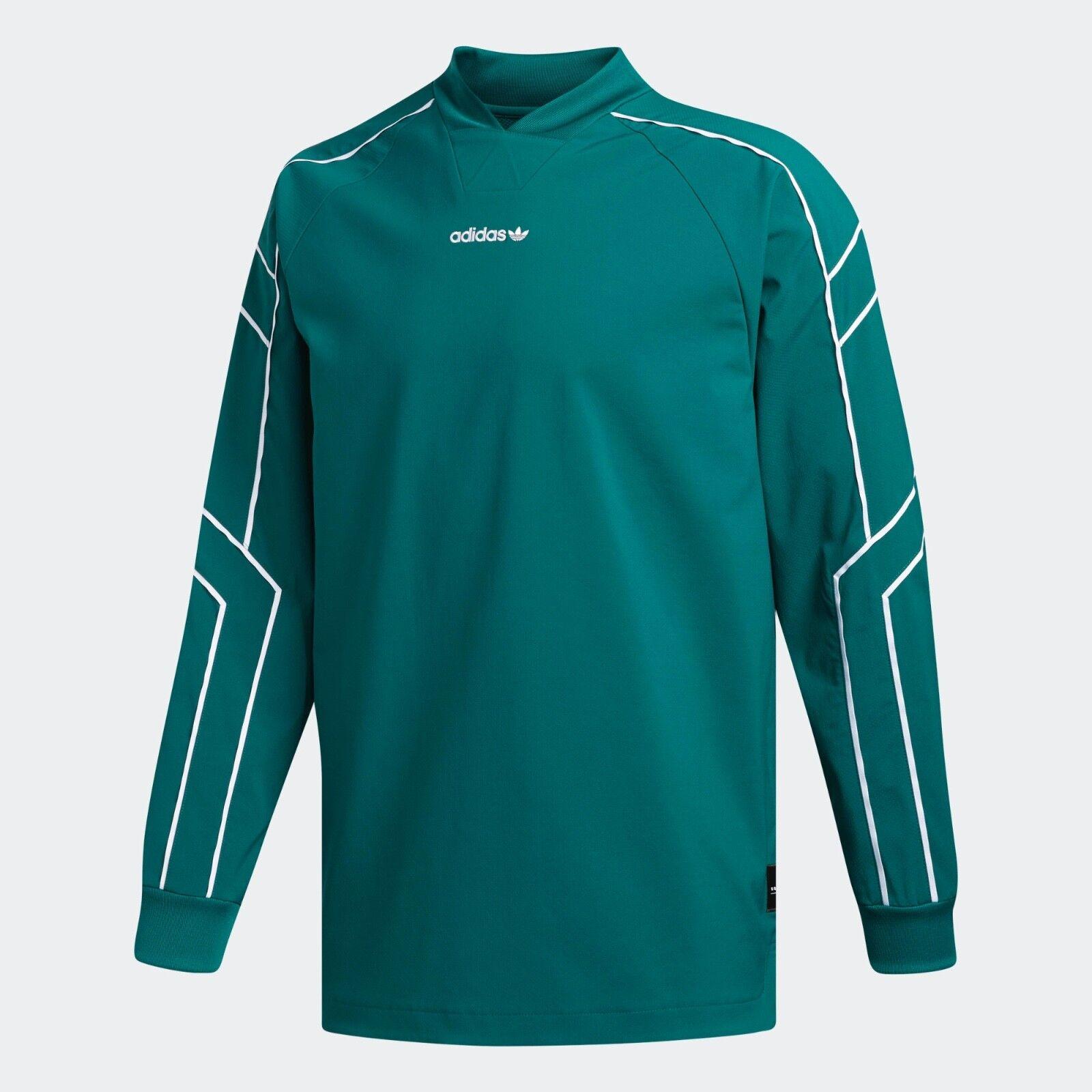 NWT Adidas Men's Originals EQT Goalie Jersey Green SMALL DH5142  D88