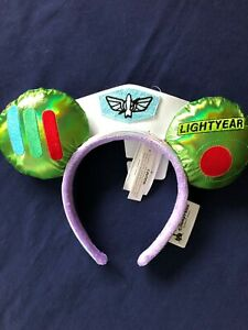 Disney Parks Mouse Ears Buzz Lightyear To Infinity and Beyond Toy Story Headband