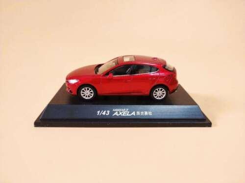1:43 Mazda 3 AXELA HATCHBACK Diecast Model Red color