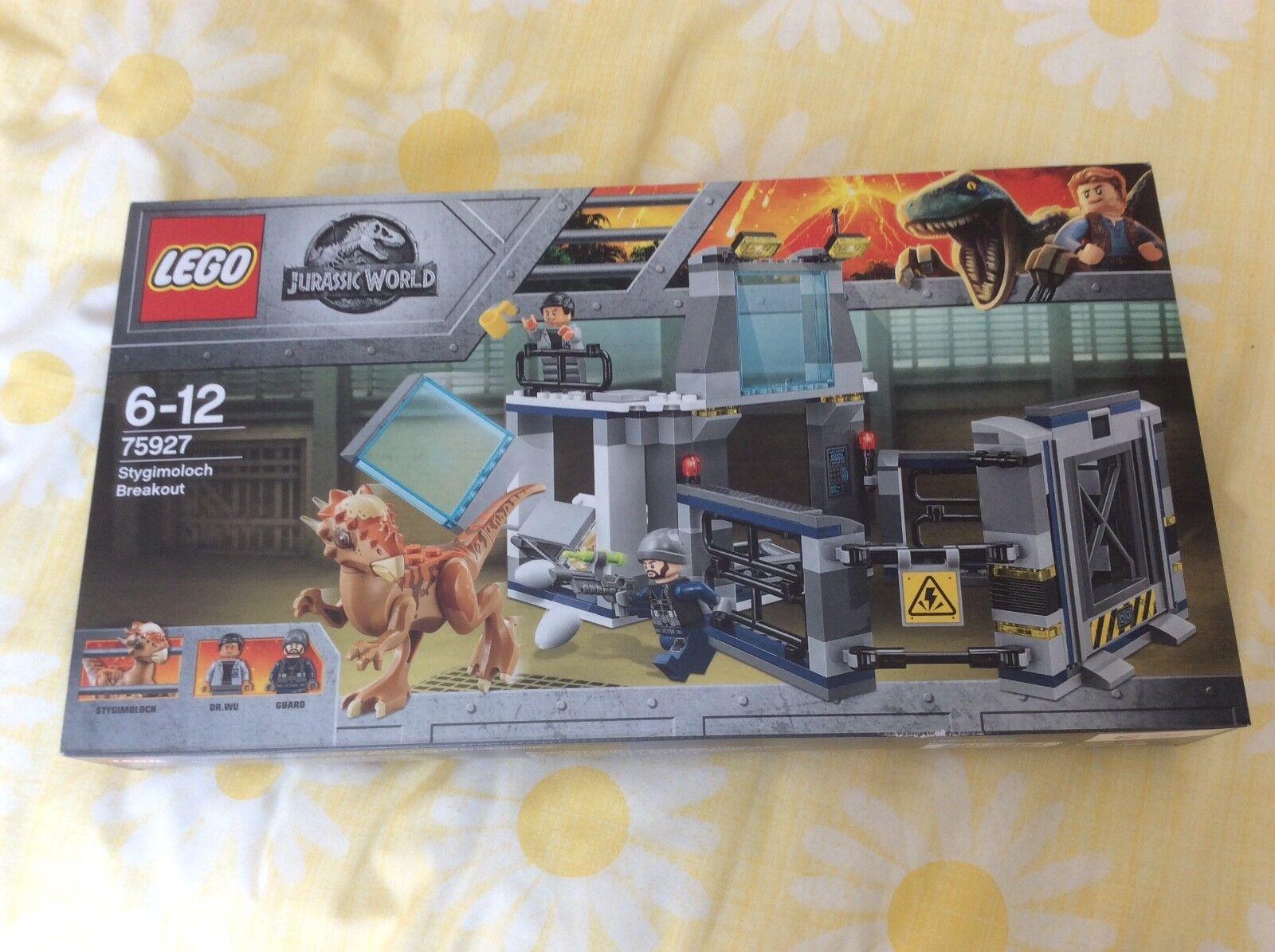 Lego Jurassic World 75927 Stygimoloch Breakout Brand New & Sealed