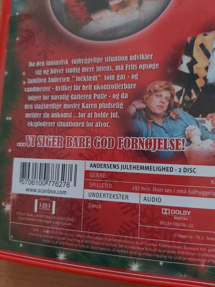 Andersens julehemmelighed, DVD, komedie