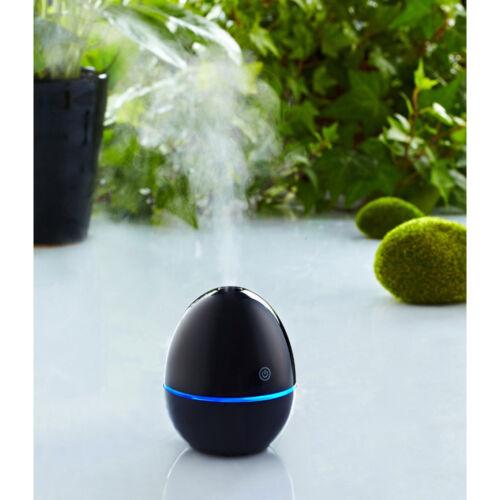 360°Rotating LED Humidifier Ultrasonic Aroma Diffuser USB Air Purifier Atomizer