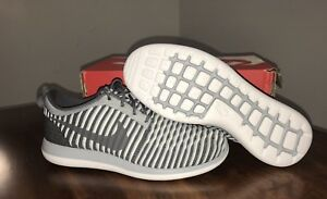 49f0fdffb3c1 Nike Roshe Two Flyknit Youth Boy s Girl s Size 6.5 Shoes Gray 844619 ...