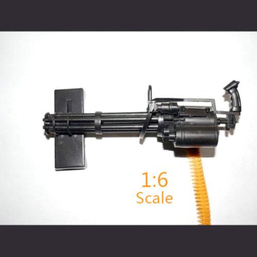 1//6 Maßstab M134 Minigun Gatling Maschinengewehr Modell US Army TERMINATOR