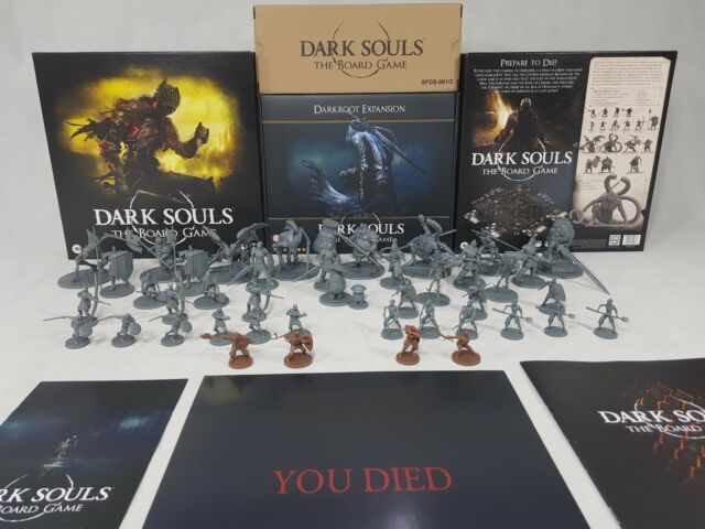 Dark Souls Board Game Multi-listing - All Parts + Darkroot Expansion  [ENG,2018]