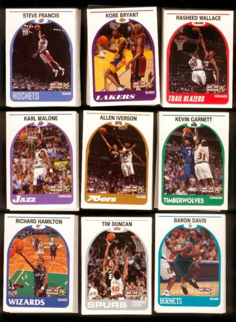 1999-00 HOOPS DECADE Basketball Complete Set #1-180 NM/MT US ONLY!!!